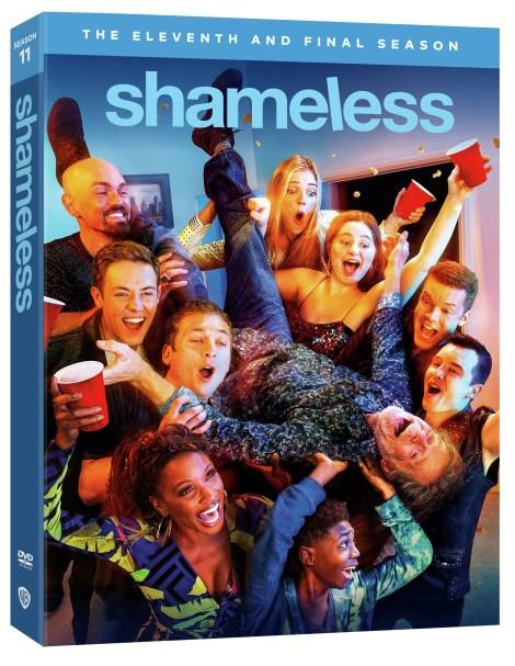 shameless season 11 dvd
