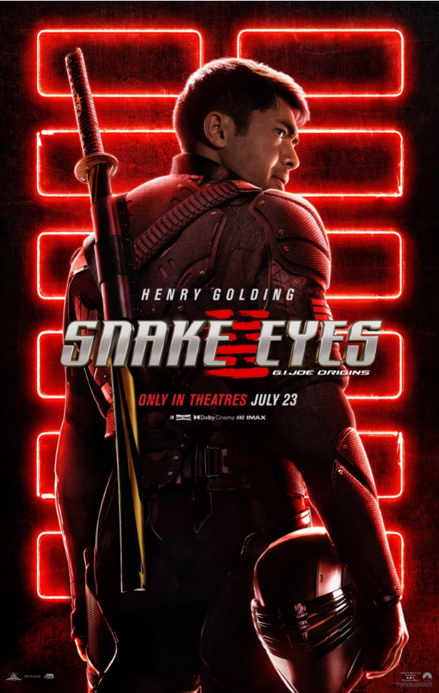 'Snake Eyes'; The First Trailer, Featurette & Poster For The 'G.I. Joe Origins' Film Are Here! 2