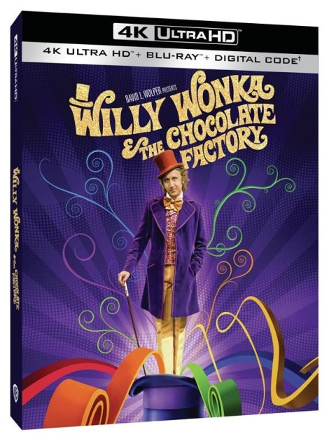 'Willy Wonka And The Chocolate Factory'; The Gene Wilder Led Classic Debuts On 4K Ultra HD June 29, 2021 From Warner Bros 2