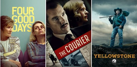 DEG Watched At Home Top 20 List For 06/10/21: Four Good Days, The Courier 5