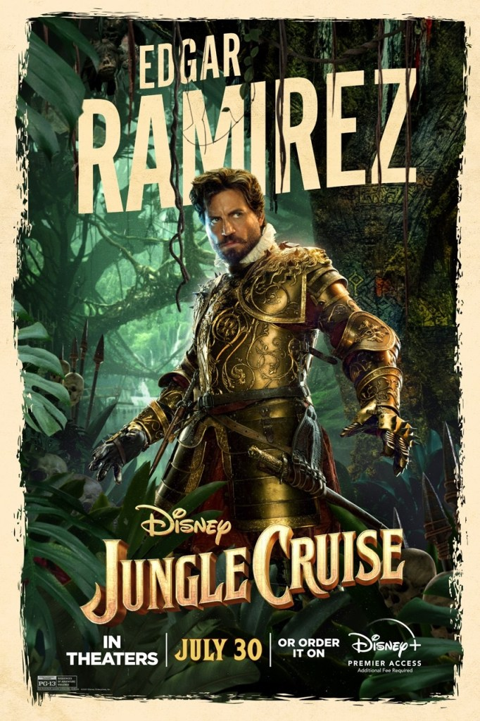 'Jungle Cruise'; Check Out 2 New Trailers & 7 Character Posters For The Disney Film 10