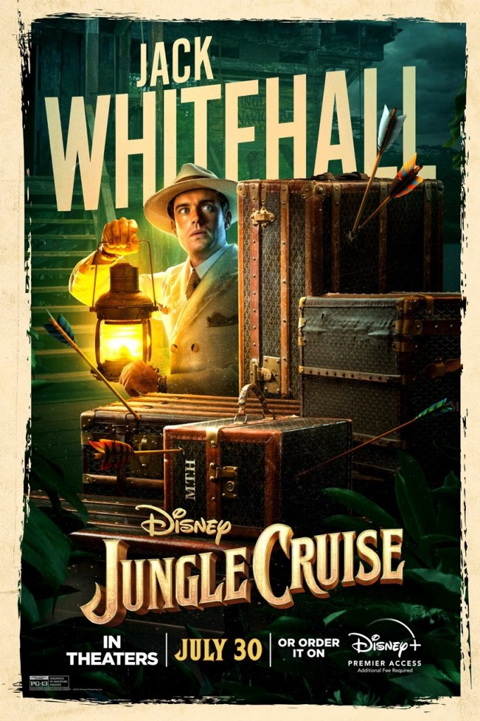 'Jungle Cruise'; Check Out 2 New Trailers & 7 Character Posters For The Disney Film 11