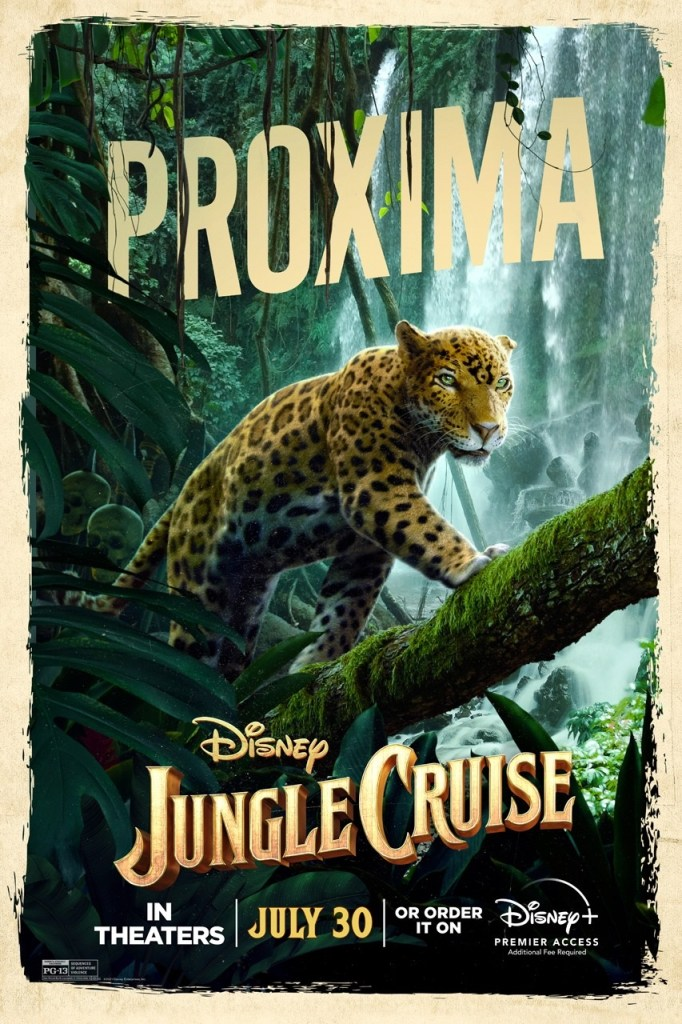 'Jungle Cruise'; Check Out 2 New Trailers & 7 Character Posters For The Disney Film 14