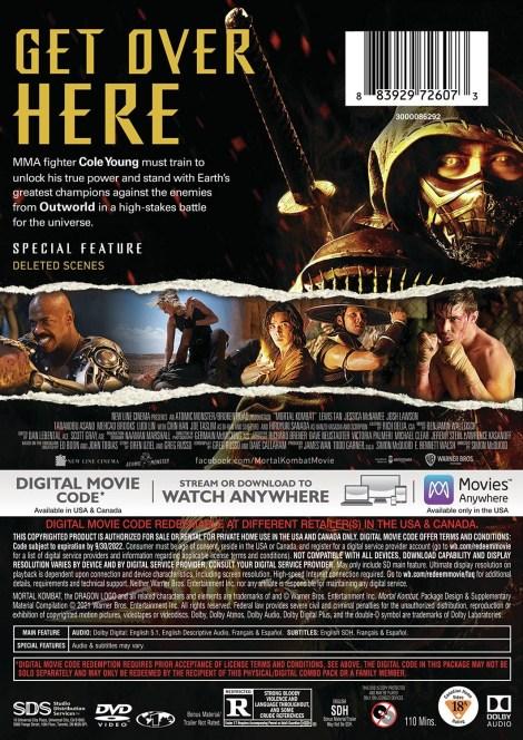 'Mortal Kombat'; The New Film Arrives On Digital June 11 & On 4K Ultra HD, Blu-ray & DVD July 13, 2021 From Warner Bros 10