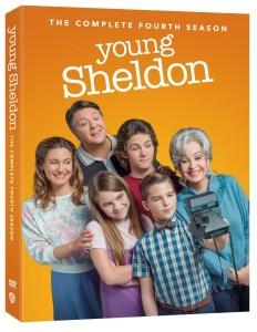 young sheldon season 4 dvd