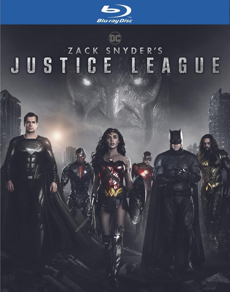 'Zack Snyder's Justice League'; Arrives On 4K Ultra HD, Blu-ray & DVD September 7, 2021 From DC - Warner Bros 7