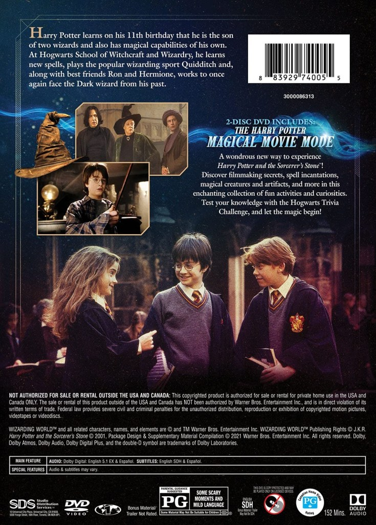 'Harry Potter And The Sorcerer's Stone' Magical Movie Mode; Arrives On Blu-ray, DVD & Digital August 17, 2021 From Warner Bros 6