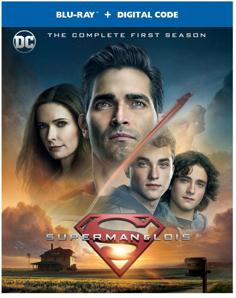 'Superman And Lois: The Complete First Season'; Arrives On Blu-ray & DVD October 19, 2021 From DC - Warner Bros 2