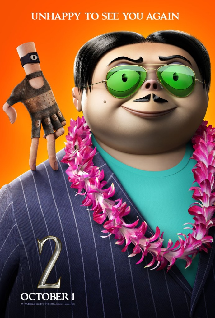 'The Addams Family 2'; 9 Character Posters For The Animated Sequel Show Off The Family On Vacation 10