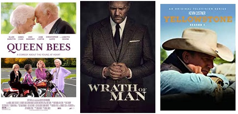 DEG Watched At Home Top 20 List For 08/26/21: Hitman's Wife's Bodyguard, Queen Bees 1