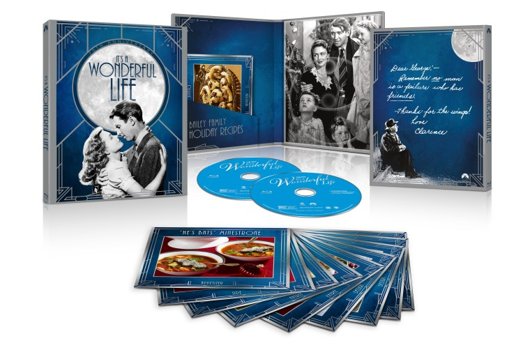 it's a wonderful life, 75th anniversary blu ray