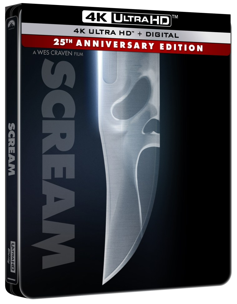 'Scream'; Arrives Newly Remastered On 4K Ultra HD & Blu-ray October 19, 2021 From Paramount 5