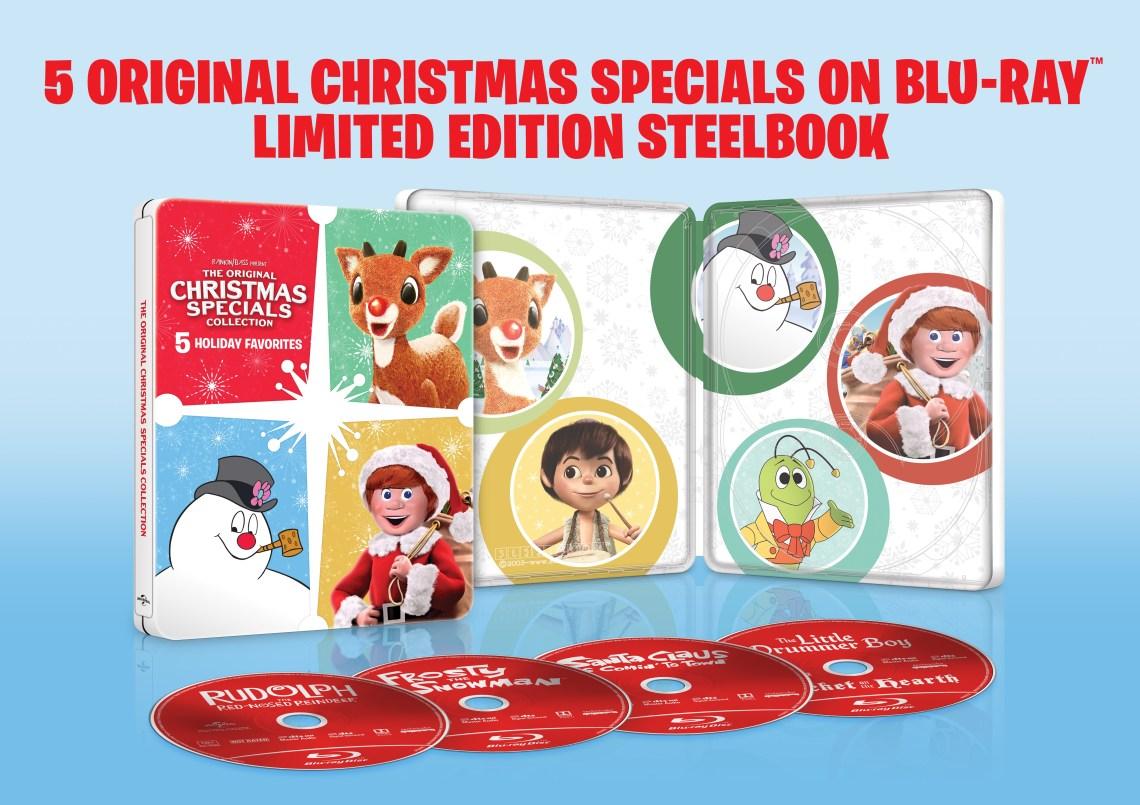 original christmas specials collection, steelbook, blu ray