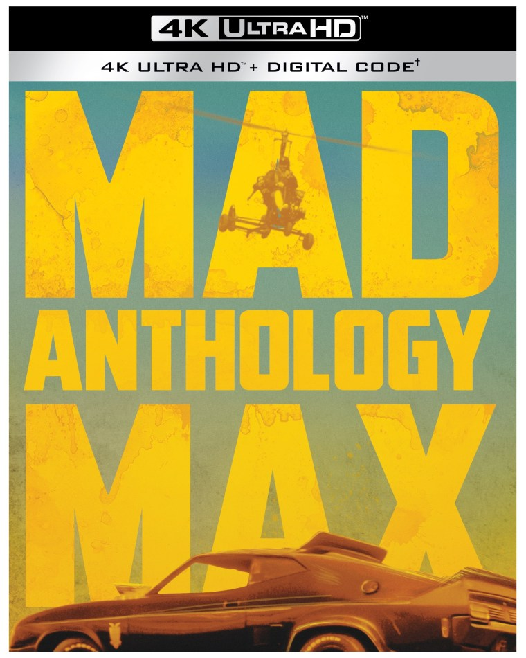 =New Release Date= The 'Mad Max' Anthology; Now Arriving On 4K Ultra HD & Digital November 16, 2021 From Warner Bros 7