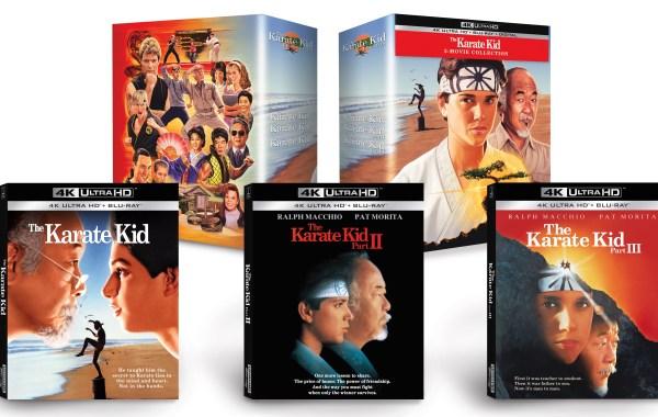karate kid, karate kid 4k collection