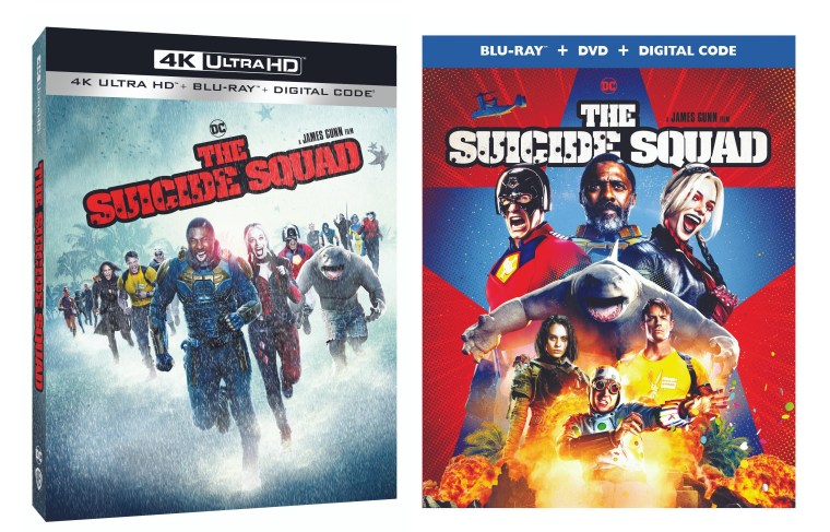 the suicide squad, 4k uhd, blu ray, dvd, james gunn