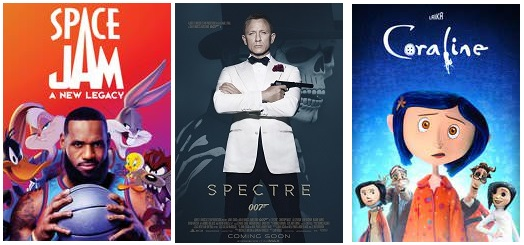 DEG Watched At Home Top 20 List For 10/14/21: Space Jam: A New Legacy, F9: The Fast Saga 10