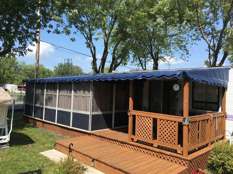 the deck enclosures for trailers