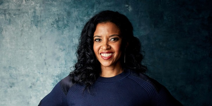 "Mandatory Credit: Photo by Taylor Jewell/Invision/AP/Shutterstock (10074320q)<br /> Renee Elise Goldsberry poses for a portrait to promote the series ""Documentary Now!"" at the Salesforce Music Lodge during the Sundance Film Festival, in Park City, Utah<br /> 2019 Sundance Film Festival - ""Documentary Now!"" Portrait Session, Park City, USA - 26 Jan 2019"