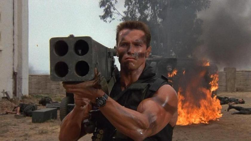 Review: Commando, the perfect embodiment of 80's Schwarzenegger