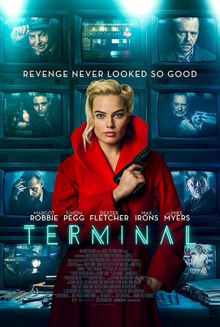TERMINAL: Margot Robbie Spins a Neon Web in First Trailer