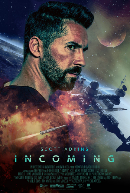 Exclusive INCOMING Trailer: Scott Adkins Goes to Space
