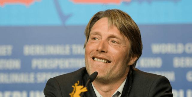 Mads Mikkelsen, En Kongelig Affære press conference