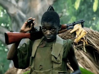 Child soldier (invisible children documentary)
