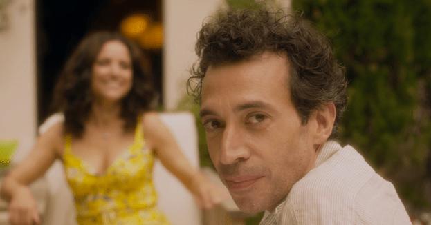 Julia Louis-Dreyfus and Eric Elmosnino