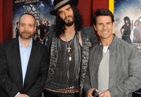 Paul Giamatti, Russell Brand and Tom Cruise
