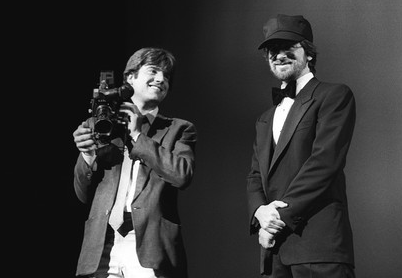 Steven Spielberg in Cannes (with Romain Goupil)