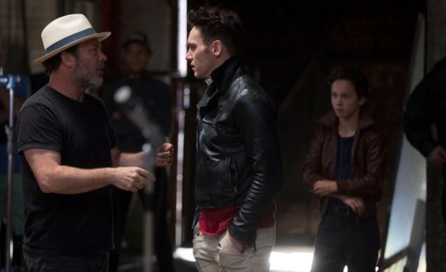 Borte directing Rhys Meyers