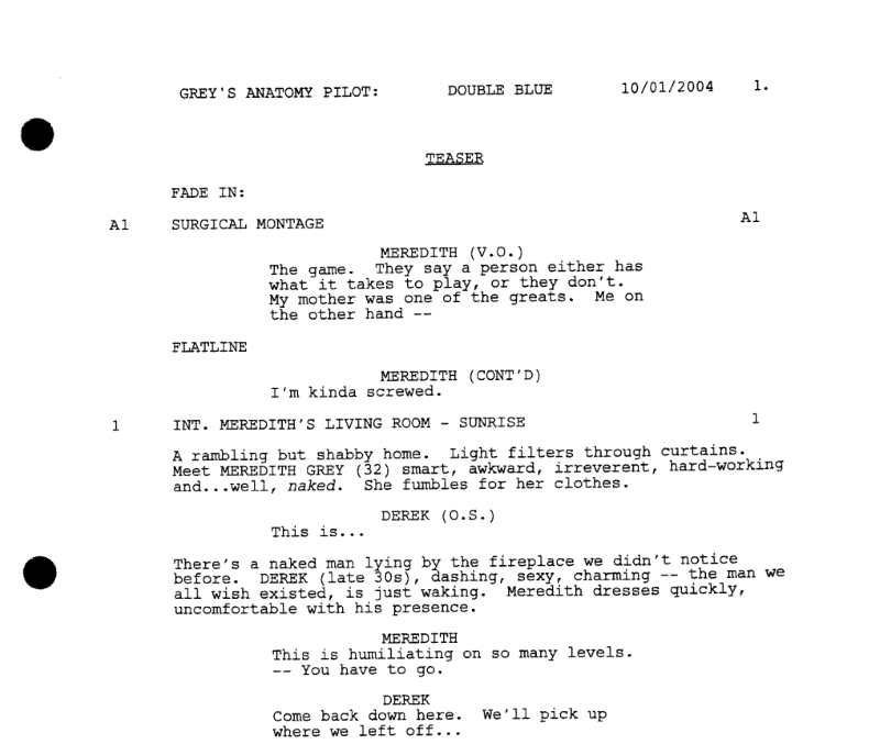 Play Script Format Template  serious turtle studio sts 38