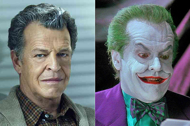 John Noble Jack Nicholson As The Joker Dead Ringers