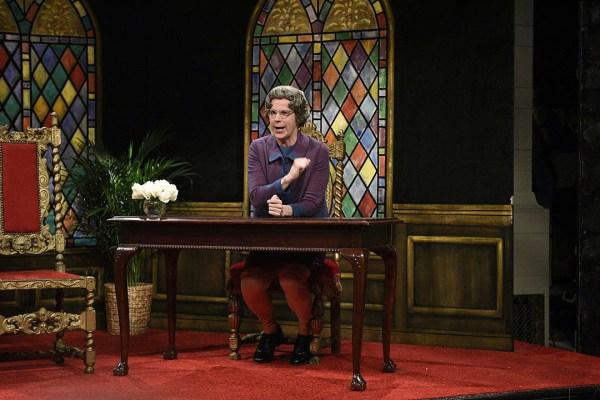 SNL Revives Dana Carveys Church Chat