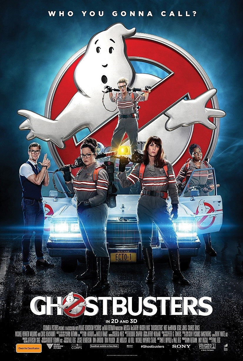 Image result for ghostbusters poster