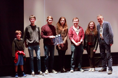 Ken Hay, Edinburgh Schools Film Competition: Secondary, 17 June 2016. Photograph: Pako Mera © EIFF, Edinburgh International Film Festival All Rights Reserved