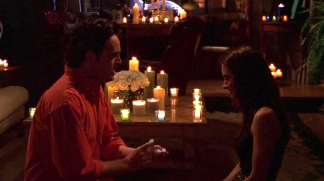chandler and monica proposal