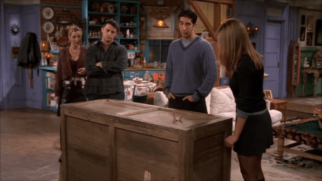 friends- the one in box