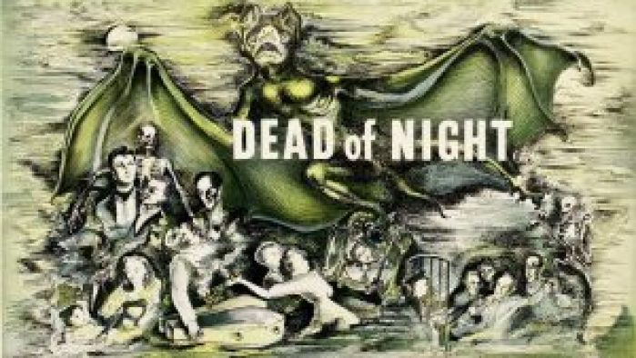 Cover art from Dead of night, one of our favorite british ghost movies