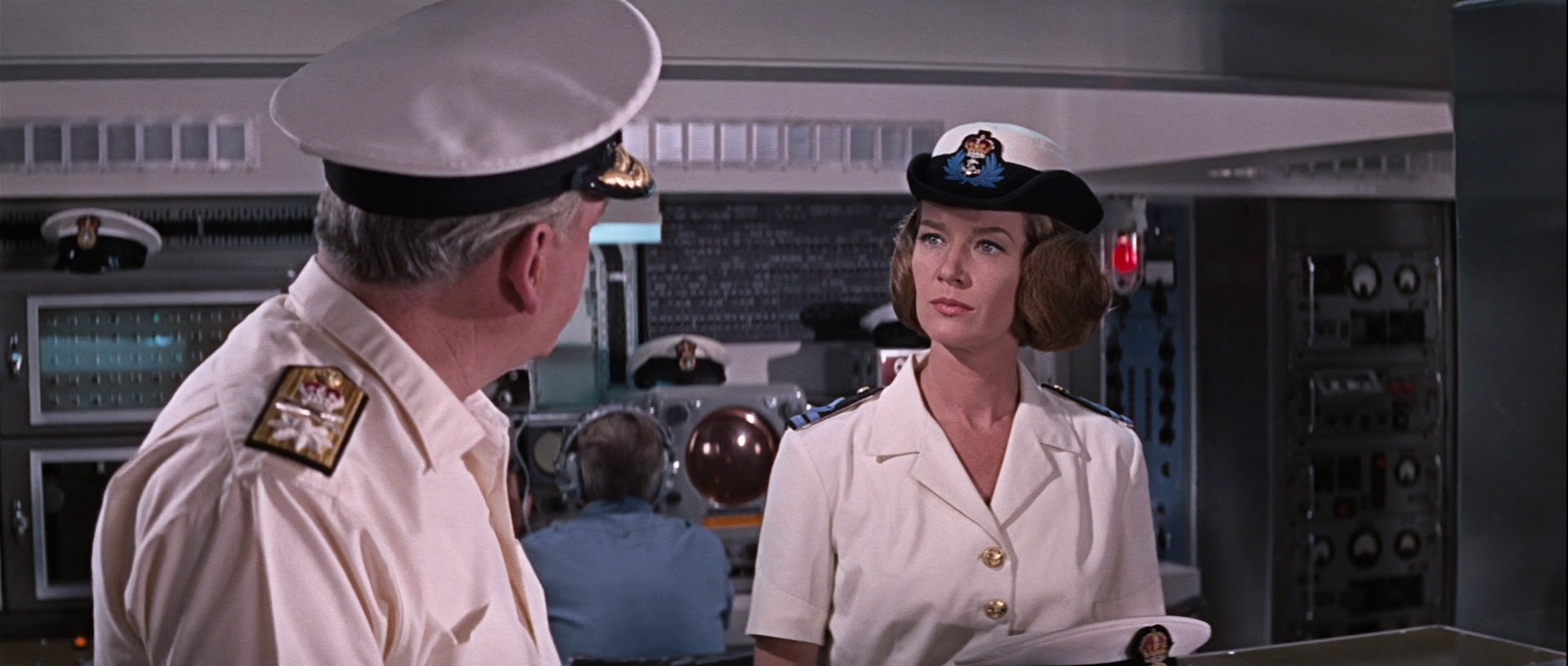 Lois Maxwell in You Only Live Twice, Miss Moneypenny in You Only Live Twice