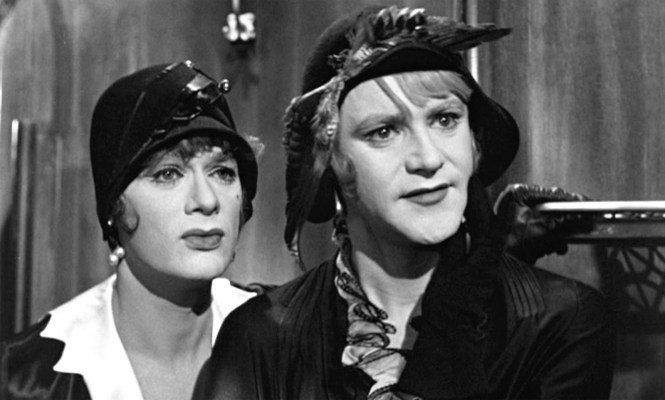 Image result for some like it hot lemmon and curtis