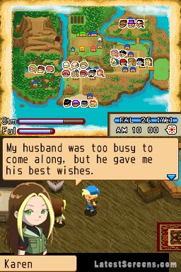 All Harvest Moon: Island of Happiness Screenshots for ...