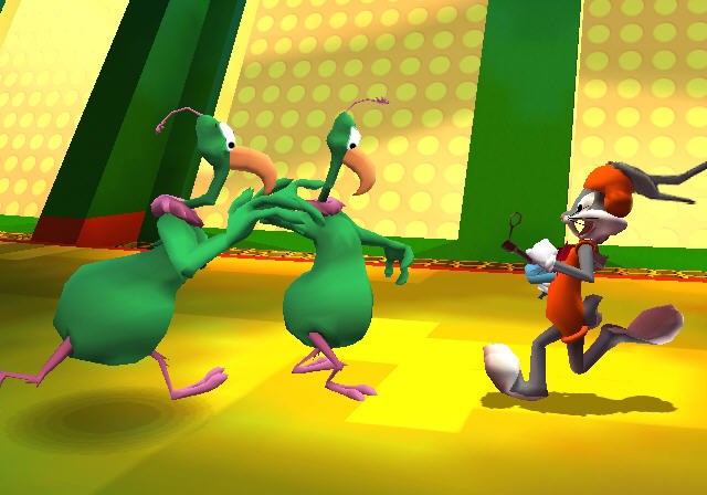 All Looney Tunes Back In Action Screenshots For GameCube