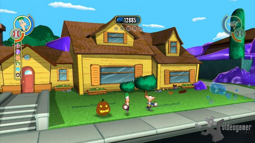 All Phineas And Ferb Across The Second Dimension Screenshots For Nintendo DS Wii PlayStation