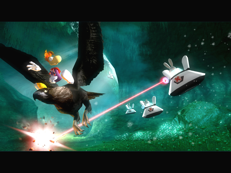 All Rayman Raving Rabbids Screenshots For Xbox Wii Gameboy Advance Xbox 360 PC Nintendo DS
