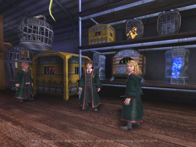 All Harry Potter And The Prisoner Of Azkaban Screenshots