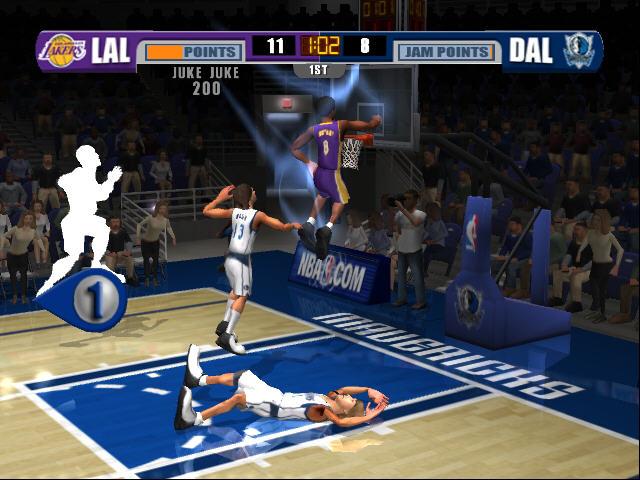 All NBA Jam Screenshots For Xbox PlayStation 2 Arcade