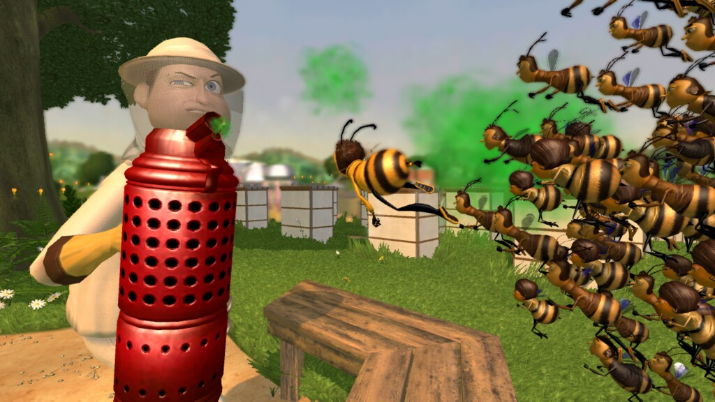 All Bee Movie Game Screenshots For Nintendo DS Wii Xbox