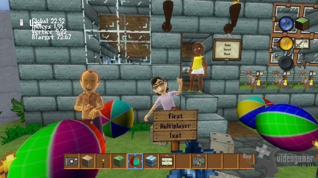 All Block World Screenshots For Xbox 360